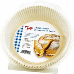 Formy papierowe do pieczenia silikonowane Tala okrągłe 10A05220
