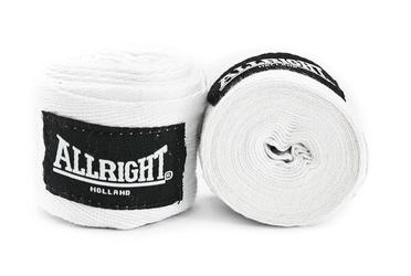Bandaż bokserski allright biały 3m