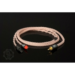 Forza AudioWorks Claire HPC Mk2 Słuchawki: Mr Speakers Alpha Dog, Wtyk: 2x Furutech 3-pin Balanced XLR męski, Długość: 3 m