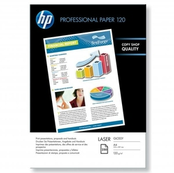 HP Professional Glossy Las, foto papier, połysk, biały, A4, 120 gm2, 250 szt., CG964A, laser