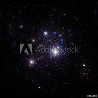 Obraz na płótnie canvas dwuczęściowy dyptyk gwiazdy