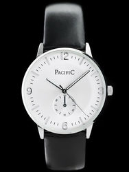 Zegarek czarno-biały na pasku PACIFIC A270 zy040a