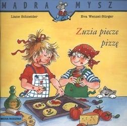 Zuzia piecze pizzę