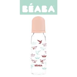Beaba Butelka szklana 250 ml Origami nude