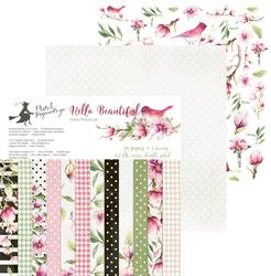 Papier Hello Beautiful 15,3x15,3 cm - zestaw
