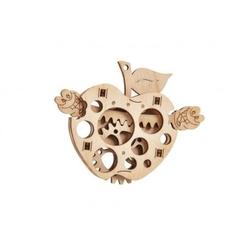 Puzzle mechaniczne jabłko z robaczkiem