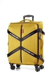Walizka march exploration 65 cm żółta