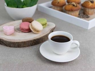 Filiżanka do espresso ze spodkiem porcelana karolina spring