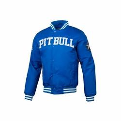 Kurtka zimowa Pit Bull West Coast Padded Varsity Jacket Herson Royal Blue - Royal Blue