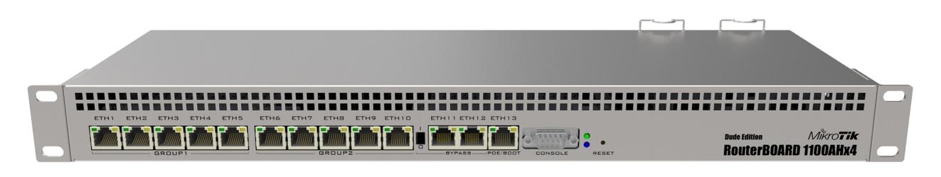 MIKROTIK ROUTERBOARD RB1100AHx4 - Szybka dostawa lub możliwość odbioru w 39 miastach