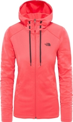 Bluza damska the north face tech mezzaluna t93bro4ck