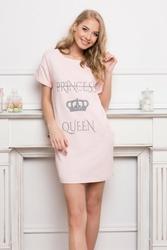 Aruelle Princess Queen Pink koszula nocna