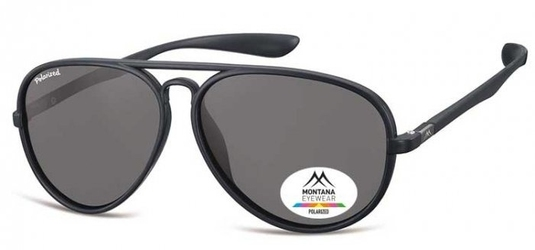 Okulary aviator pilotki montana mp29 czarne matowe