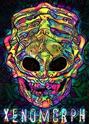 Psychoskulls, xenomorph, alien obcy - plakat wymiar do wyboru: 29,7x42 cm
