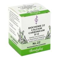 Biochemie 22 calcium carbonicum d 12 tabl.