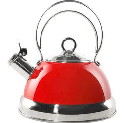 Czajnik klasyczny, czerwony z gwizdkiem Wesco 2 Litry 340520-02