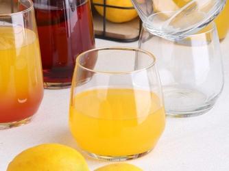 Szklanki do wody  do napojów  do drinków altom design rubin 370 ml komplet 6 sztuk