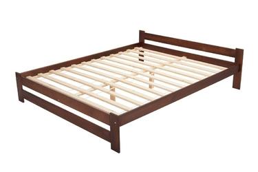 Łóżko drewniane ottawa 180x200 orzech
