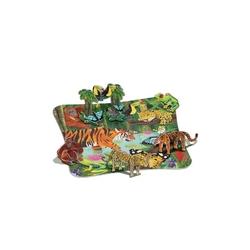 Dżungla puzzle 3d