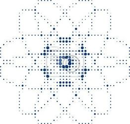 Naklejka abstrakt medizin radiologie symbol