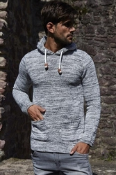 Sweter - ecru 27011-1