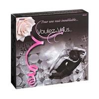 Sexshop - smakowity zestaw olejków i pyłków do ciała voulez-vous... - gift box wedding - online