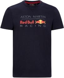 Koszulka red bull racing f1 logo granatowa - granatowy