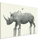 Majestic rhinoceros - obraz na płótnie