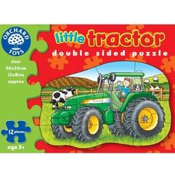 Traktor układanka dwustronna