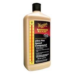 Meguiars m110 mirror glaze ultra pro speed compound – mocno ścierna pasta polerska 946ml