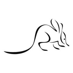 Mysz 33 szablon malarski