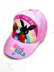 Królik bing czapka z daszkiem dla dziewczynki