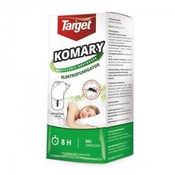 Elektrofumigator na komary – urządzenie + płyn 30 ml target