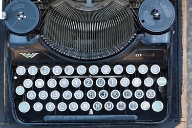 Fototapeta stara maszyna do pisania fp 58