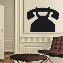 Telefon 143 naklejka tablicowa