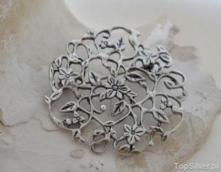 Sorea - srebrna broszka ze srebra