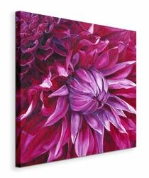 Fabulous Pink Dahlias - Obraz na płótnie
