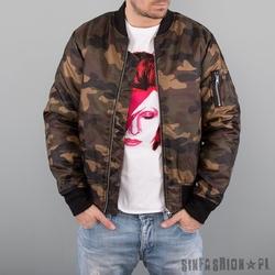 Kurtka uc - camo bomber jacket