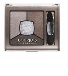 Bourjois smoky stories quad eyeshadow palette kosmetyki damskie - cienie do powiek 05 good nude 3.2g