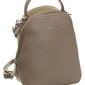 Modny plecak damski beżowy david jones 5705 - beżowy