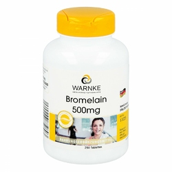 Bromelain 500 mg w tabletkach