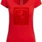 Koszulka damska scuderia ferrari czerwona - czerwony