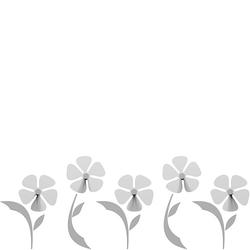 Wieszak ścienny Flo CalleaDesign biały 13-010-1
