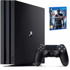 Konsola Sony PS4 Pro 1TB + Uncharted 4