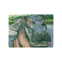Hipopotam drewniane puzzle