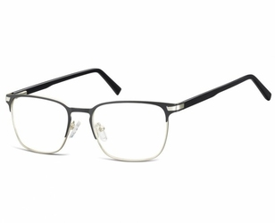Okulary oprawki optyczne korekcyjne montana 917 czarno-srebrne