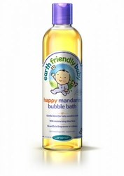 Earth Friendly Baby, Organiczny Płyn do Kąpieli z Mandarynką, 300ml