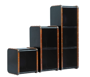Authentic models półka captains stacking s, kolor czarny  mf214