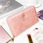 Pojemny portfel damski różowy milano design - różowy