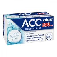 Acc akut 200 tabletki musujące